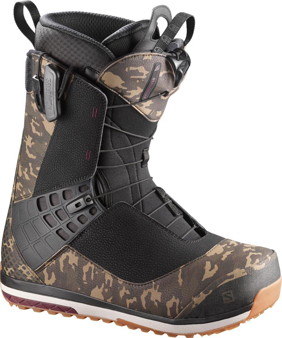 chaussures de sport ce24a 22701 Salomon Dialogue Wide Snowboard Boots