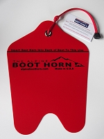 Alpine Boot Horn - Put your Ski Boots on Easier!
