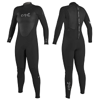 O'Neill Womens' Epic II 4/3 Back Zip Fullsuit
