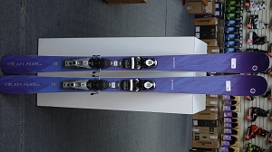 Blizzard Black Pearl 88 154cm with Look NX 12 binding - Used Demo Ski