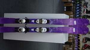 Nordica Astral 84R 151cm with Marker TP Light binding - Used Demo Ski