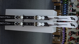 Nordica Sentra S6 162cm with Marker TPX binding - Used Demo Skis