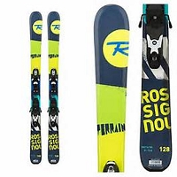 Rossignol Terrain Boy Baby Kid Skis w/ Binding