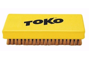 Toko Rectangular Copper Brush