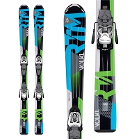 Volkl RTM Junior w/ 3Motion 4.5 Skis and Binding